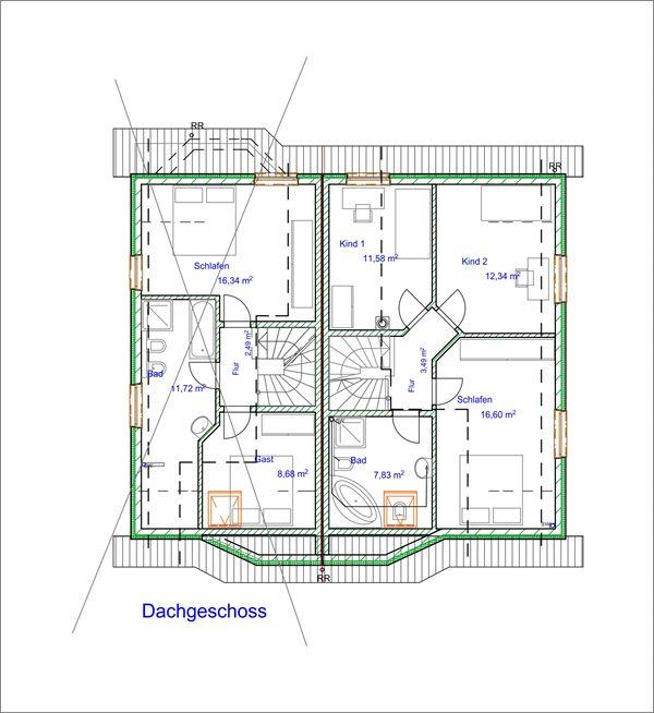 Grundriss: Dachgeschoss