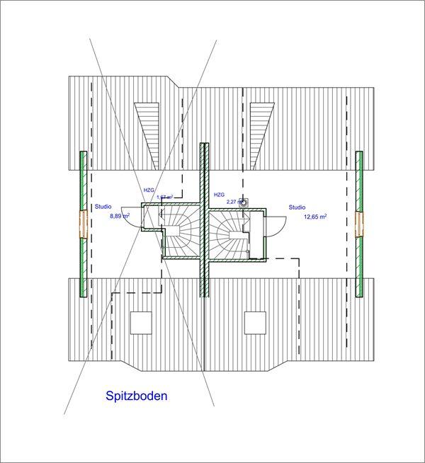 Grundriss: Spitzboden